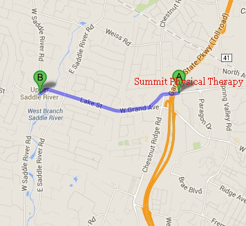Summit Physical Therapy Located Near Upper Saddle River
